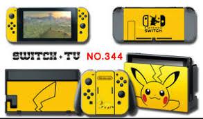 Vinyl Decal Skin Sticker Protector For Nintendo Switch Pokemon Pikachu 344 Ebay