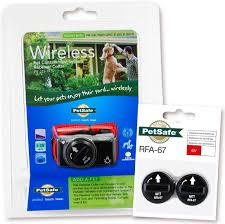 Amazon Com Petsafe Pif 275 19 Wireless Fence Dog Collar With 2 Free Batteries 10 X 9 X 4 Petsafe Pet Training Collars Pet Supplies