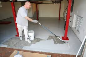 how to install garage flooring