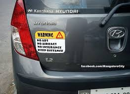 31 Bumper Stickers That Shows How Funny Indians Can Be