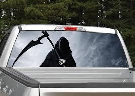 Grim Reaper Rear Window Graphic Miller Graphics