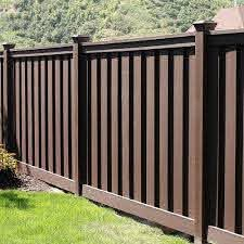 Trex Fencing Composite Provides A Beautiful Unique Low Maintenance Alternative To Wood And Vinyl Privacy Fence Panels Wood Fence Design Privacy Fence Designs