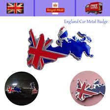 Universal Chrome Auto Car Decal Sticker Uk England Flag Logo Badge Emblem Trim