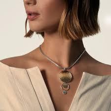 john hardy dot drop pendant necklace in