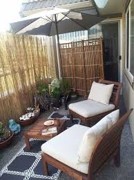 Privacy Fence Ideas I Enjoy This Fence Suggestion Personal Privacy Yet Neighborly Trellis And Apartment Backyard Balcony Decor Apartment Balcony Decorating