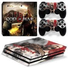 God Of War Ps4 Pro Skin Sticker Wrap Consoleskins Co