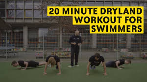 20 minute dryland workout for swimmers