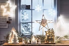 christmas window lights decoration and