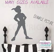 Pan Shadow Silhouette Vinyl Wall Decal V Buy Online In Tanzania At Desertcart