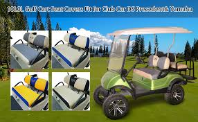 10l0l golf cart seat covers