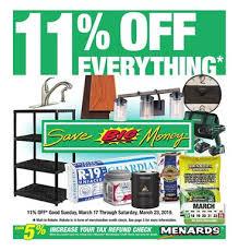 Menards Ad Rebate Sale Mar 17 23 2019 Shed Construction