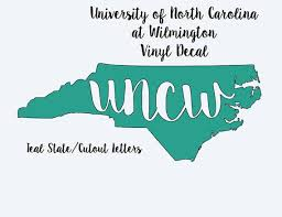 Nc College Vinyl Decals Wolfpack Uncw Duke Pirates Tarheels 6 Inches Biology College Nc State University North Carolina Colleges