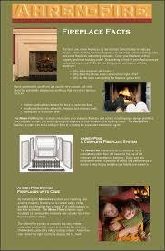 ahren fire fireplace systems