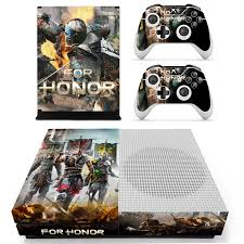Game For Honor Skin Sticker Decal For Xbox One S Console And Controllers For Xbox One Slim Skin Stickers Vinyl Stickers Aliexpress
