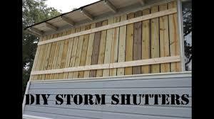 diy hurricane shutters you