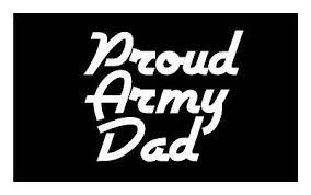 Proud Army Dad Us Army 5x6 Vinyl Car Truck Window Decal Sticker 2 99 Picclick