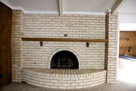 whitewash a fireplace the wrong way