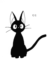 Vinyl Decal Sticker Ghibli Kiki Jiji Kiki S Delivery Service Anime Japanese Anime Collectibles