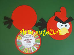 Invitacion Angry Birds Tarjetas De Invitacion Infantiles