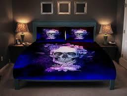skull bedding sets duvet bedding sets