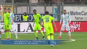 Virtus Entella - Pescara 0-0 - YouTube
