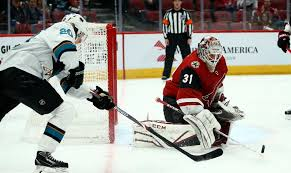 Kessel, Hall score twice each, lead Coyotes over Sharks 6-3