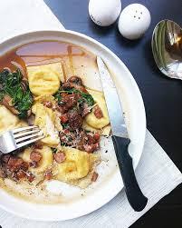 ricotta ravioli with sausage mushroom