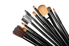diffe types of makeup brushes and