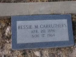 Bessie Myrtle Evans Carruthers (1886-1964) - Find A Grave Memorial