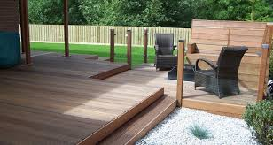 average cost of laying decking