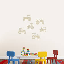 Tractor Wall Decal Wayfair