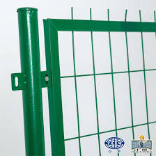 China Green Vinyl Coated Galvanized Iron Welded Wire Mesh Garden Fence China Wholesale Mesh Fence And Green Coated Fence Price