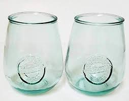 drinking glasses 100 recycled glass
