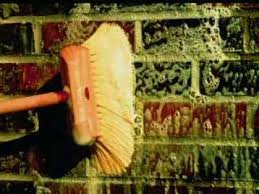 cleaning brick work you