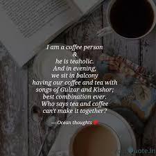 i am a coffee person he quotes writings by vijeta mundade