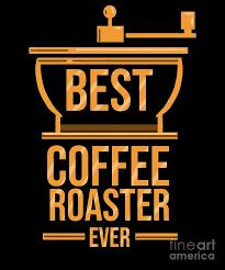 best coffee roaster ever coffee roasting barista digital art by
