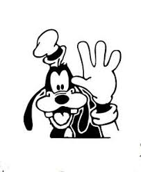 Waving Goofy Vinyl Decal Sticker Car Window Laptop 75168 Ebay