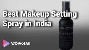 best makeup setting spray in india