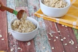 easy oatmeal face mask