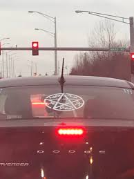 What Is The Meaning Of This Decal On A Car S Rear Window Kansas City Mo Whatisthisthing