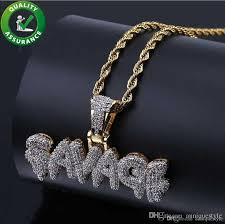 hip hop jewelry designer necklace gold