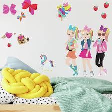 Roommates 31 Piece Jojo Siwa Cartoon Peel And Stick Wall Decal Set Bed Bath Beyond