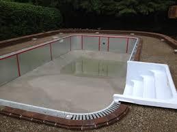 build inground pool