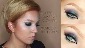 sleek arabian nights makeup tutorial