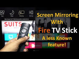 screen mirroring with fire tv stick a