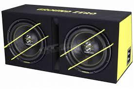 Ground Zero GZIB 2.3000XSPL doppio sub SPL in cassa reflex | Subwoofer ::  RG Sound Store ::