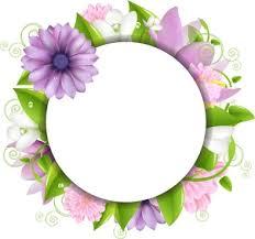 simple flower border designs free