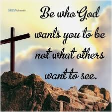 Bible Verse Of The Day:Be who god wants you to be not what others want to  see. | Daily spiritual quotes, Jesus is life, Jesus heals