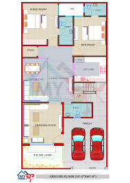 30x60 house plan west facing