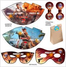 Kit Imprimible Free Fire Invitaciones Tarjeta Digital 150 00 En Mercado Libre